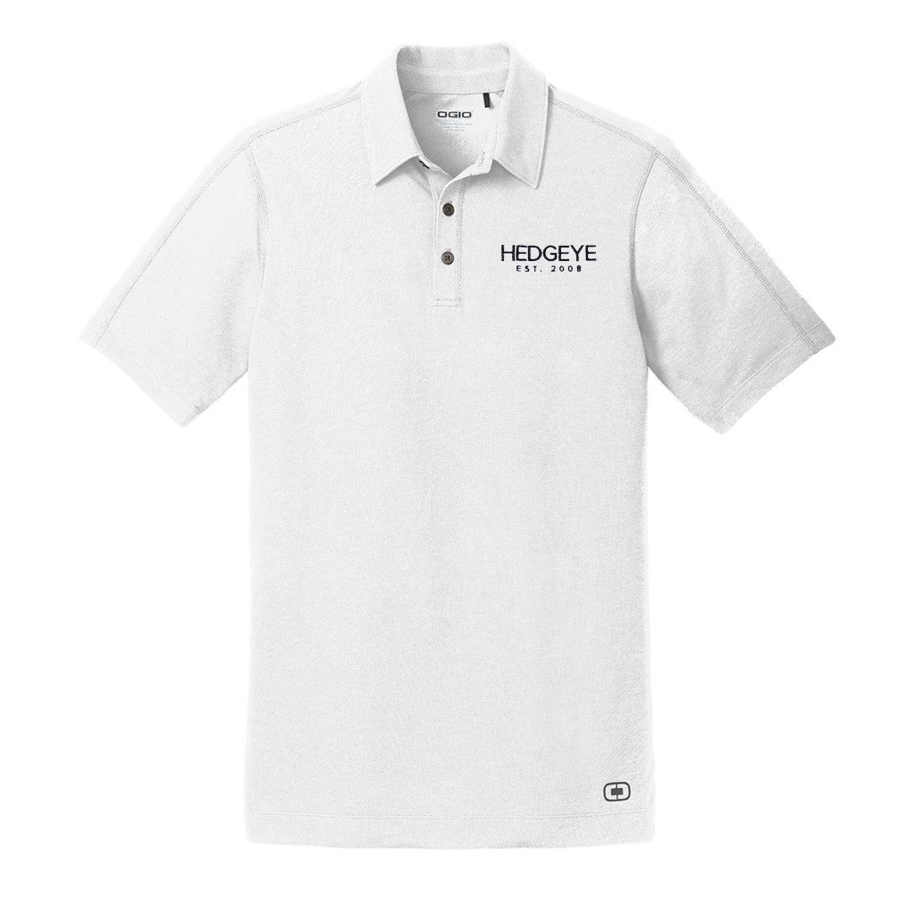 HedgeyeTV Polo (White)