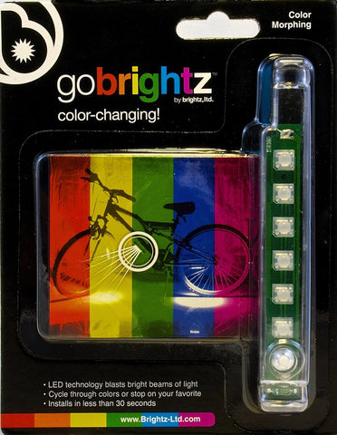 Brightz, Ltd. Color Morphing Go Brightz LED Bicycle Light