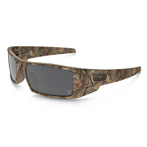 OAKLEY 03-483 GASCAN KINGS CAMO TACTICAL SUNGLASSES WOODLAND CAMO FRAME/BLACK IRIDIUM LENS