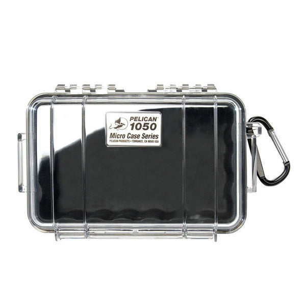 PELICAN 1050 CASE, WL, WI, BLACK, CLEAR