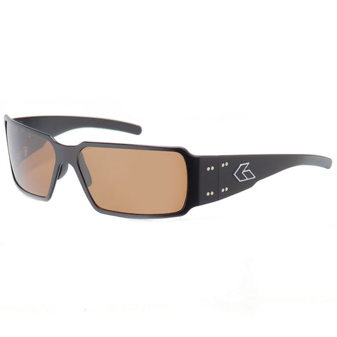 GATORZ Boxster BOXBLK03P Polarized Tactical Sunglasses, Black