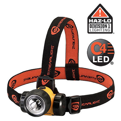STREAMLIGHT 3AA HAZ LO HEAD LAMP 61200