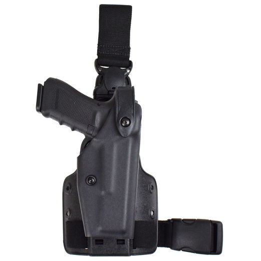 SAFARILAND Model 6005 SLS Tactical Holster with Quick-Release Leg Strap, 6005-8321-121