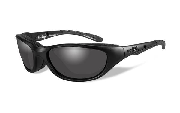 WILEY X 694 AIRRAGE BLACK OPS TACTICAL SUNGLASSES GREY LENS/MATTE BLACK FRAME