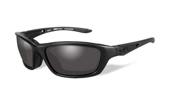 WILEY X 854 BRICK BLACK OPS TACTICAL SUNGLASSES GREY LENS/MATTE BLACK FRAME