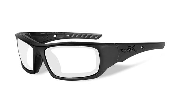 WILEY X CCARR03 ARROW TACTICAL GLASSES CLEAR LENS/MATTE BLACK FRAME