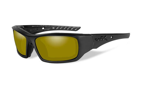 WILEY X CCARR11 ARROW TACTICAL SUNGLASSES POLARIZED YELLOW LENS/MATTE BLACK FRAME