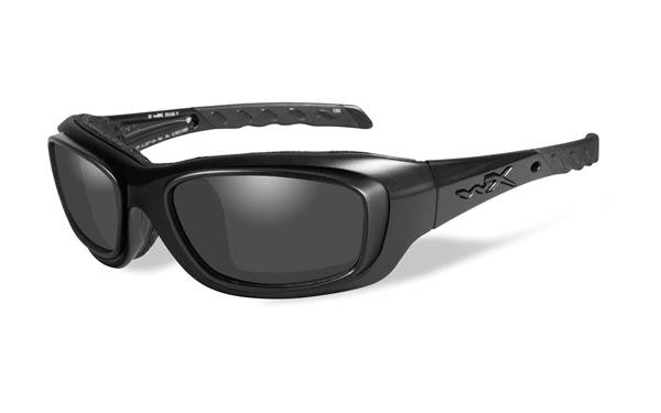 WILEY X CCGRA01D GRAVITY TACTICAL SUNGLASSES W/ RX RIM GREY LENS/ MATTE BLACK FRAMES
