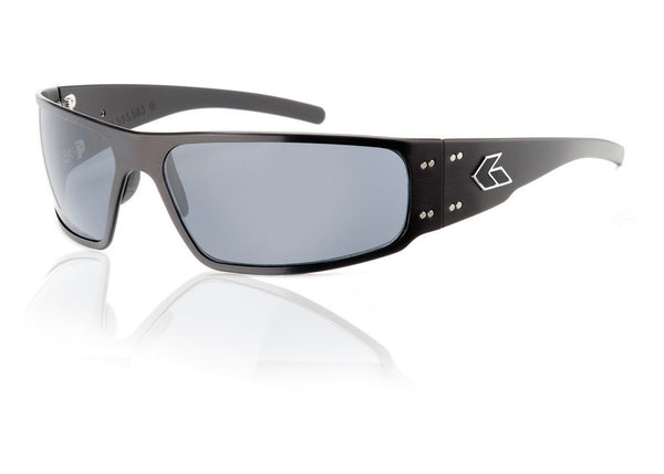 Gatorz Magnum MAGBLK01P Polarized Tactical Sunglasses Black