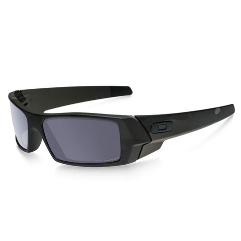 OAKLEY OO9014-03 STANDARD ISSUE GASCAN POLARIZED TACTICAL SUNGLASSES BLACK MULTICAM FRAME/GREY LENS