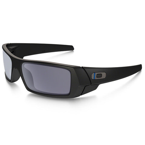 OAKLEY OO9014-11 GASCAN STANDARD ISSUE TACTICAL SUNGLASSES BLUE/BACK FRAME/GREY LENS