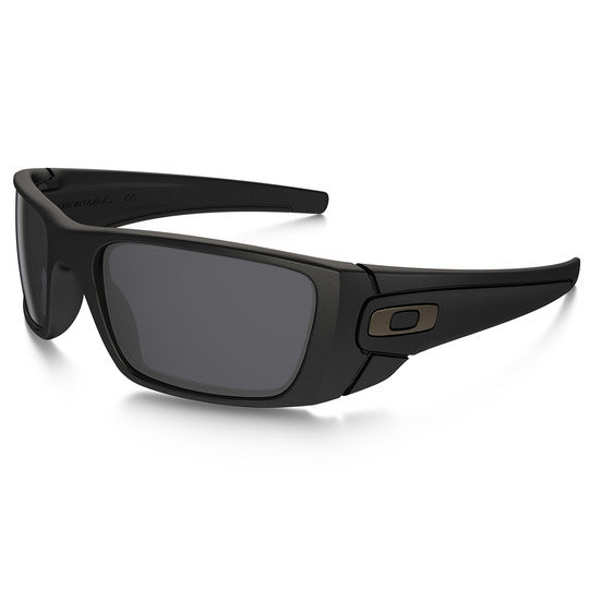 OAKLEY OO9096-30 STANDARD ISSUE FUEL CELL TACTICAL SUNGLASSES MATTE BLACK FRAME/GREY LENS