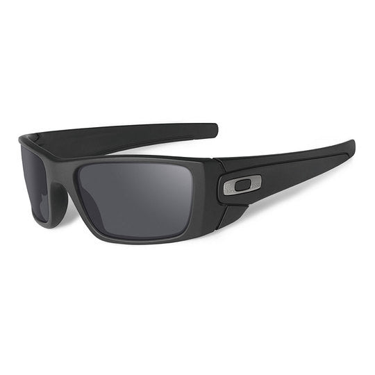 OAKLEY OO9096-B2 STANDARD ISSUE FUEL CELL TACTICAL SUNGLASSES CERAKOTE GRAPHITE FRAME/BLACK IRIDIUM LENS