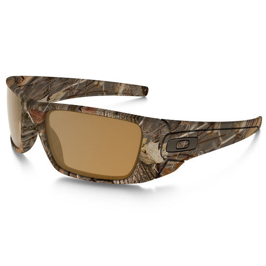 OAKLEY OO9096-D9 FUEL CELL TACTICAL SUNGLASSES WOODLAND CAMO FRAMES/POLARIZED BRONZE LENS