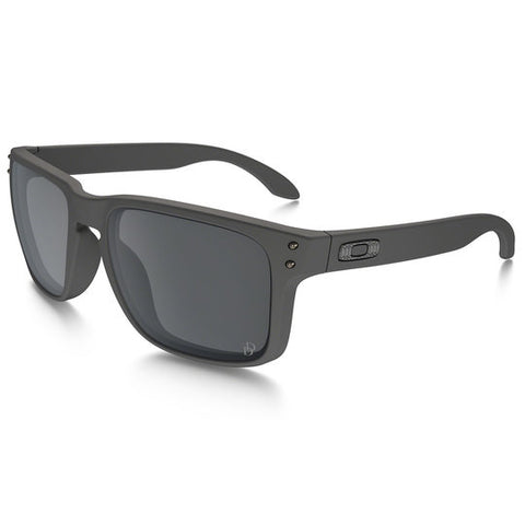 OAKLEY OO9102-C355 STANDARD ISSUE DANIEL DEFENSE HOLBROOK TACTICAL SUNGLASSES CERAKOTE TORNADO FRAME/BLACK IRIDIUM LENS