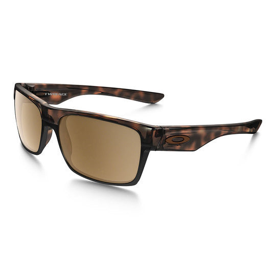 OAKLEY OO9189-17 TWO FACE TACTICAL SUNGLASSES BROWN TORTOISE FRAME/TUNGSTEN IRIDIUM POLARIZED LENS