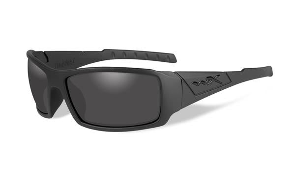 WILEY X SSTWI01 TWISTED BLACK OPS TACTICAL SUNGLASSES GREY LENS/BLACK MATTE FRAMES