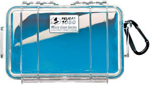 PELICAN 1050 MICRO CASE, WL, WI, BLUE, CLEAR