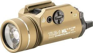 Streamlight 69266 TLR-1 HL Weapon Mount Tactical Flashlight Light 800 Lumens with Strobe