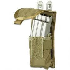 BlackHawk S.T.R.I.K.E. M4 Staggered Mag Pouch (Holds 2), 38CL65OD