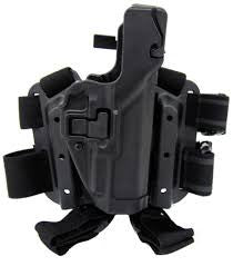 BLACKHAWK! Serpa 430704BK-R Tactical Holster Beretta 92, 96, M9, M9A1, Black