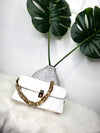Mini Me White Clutch
