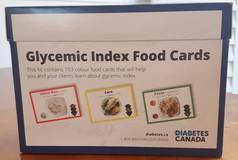 Glycemic Index Food Cards