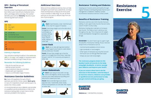 Physical Activity - Resistance Exercise