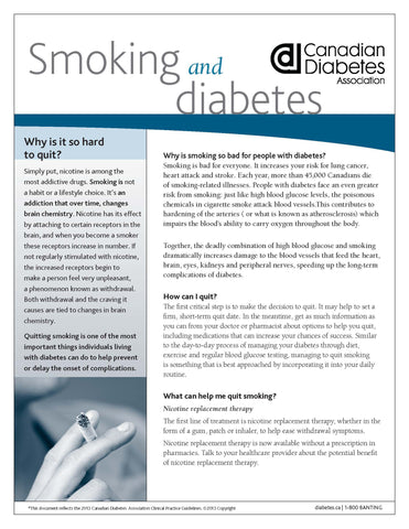 Smoking and Diabetes