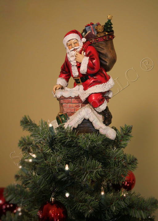 Santa Claus Tree Toppers