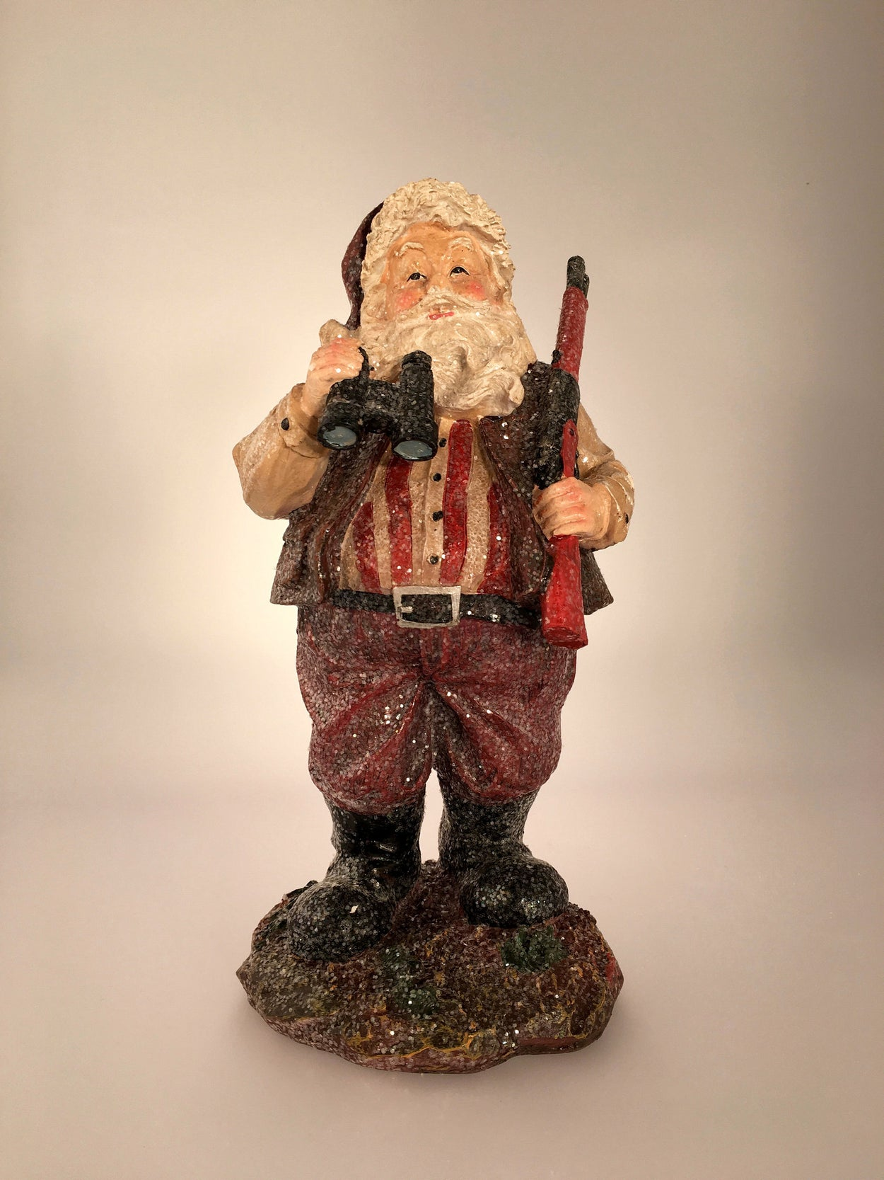 Hunting Santa Unique Christmas Tree Topper - Summit Arbor