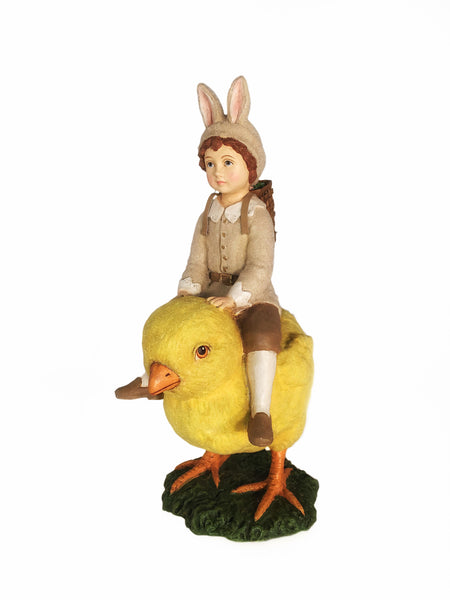 Bunny Boy on Chick Easter Decoration - Summit Arbor