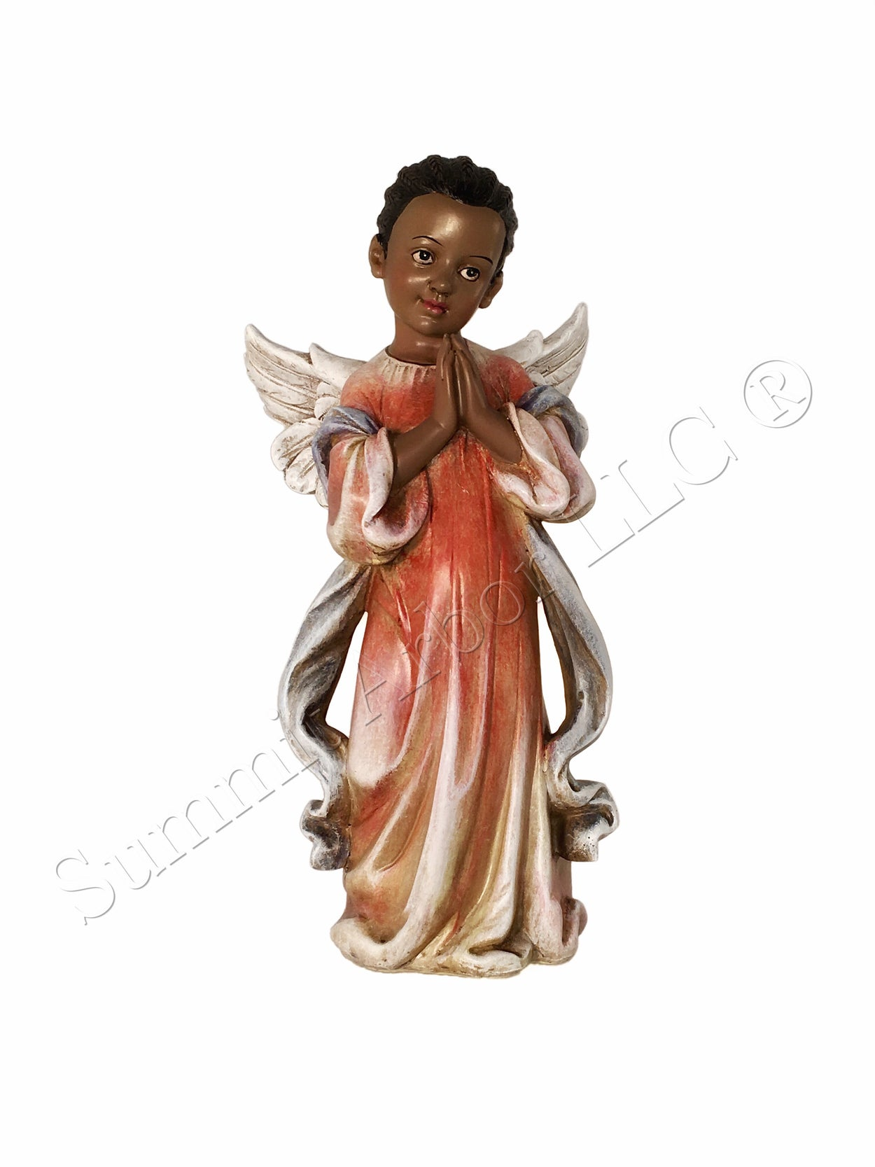 African American Angel Christmas Tree Topper - Summit Arbor