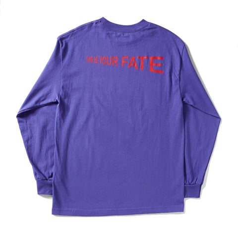 8 Ball Purple Long sleeve