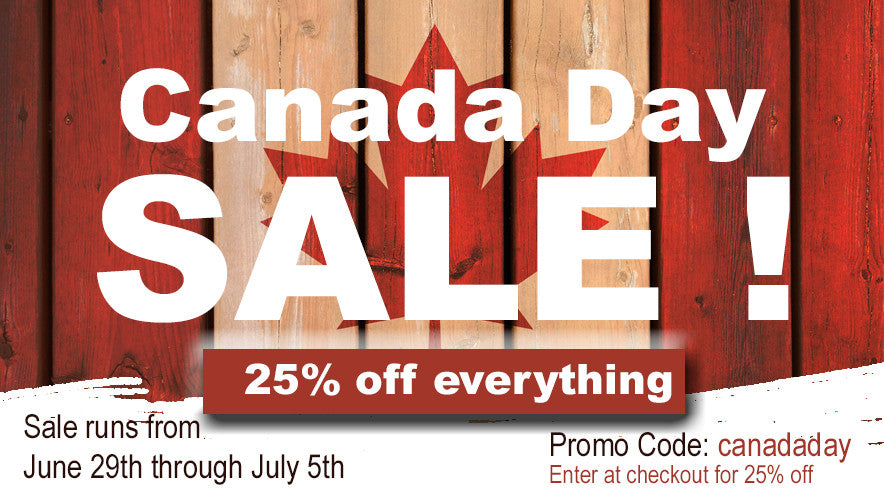 HEY CANADA !  Happy 149th Birthday **25% off all product** limited time