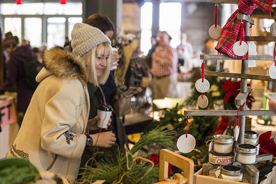 HEY TORONTO One week until the Holiday Makers Market at Evergreen's Winter Village
