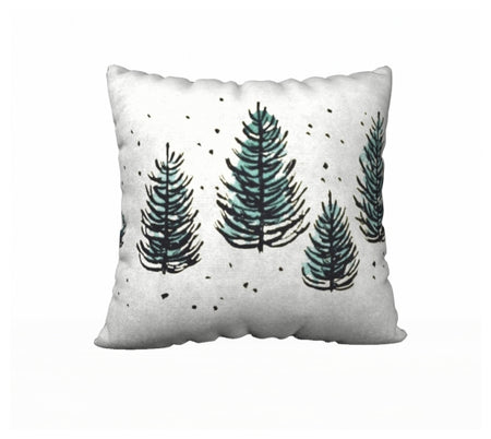 Pillow design 5 Christmas Trees