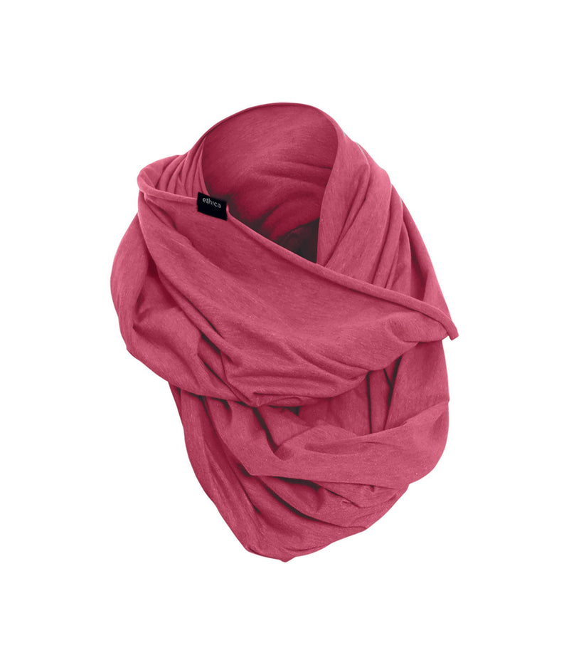 Heather Red Jersey T-soft Infinity Scarf