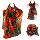 Women's Scarves  Design:  A Sea of Poppies