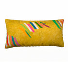 Jack Bush Chopsticks Painting on decorative pillow