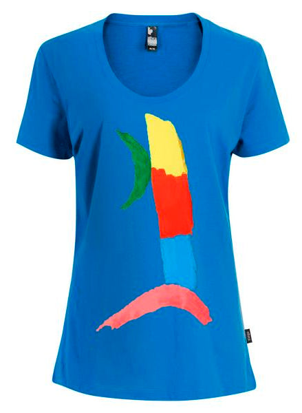 Women's Organic Cotton T-Shirts Design: Green Arc