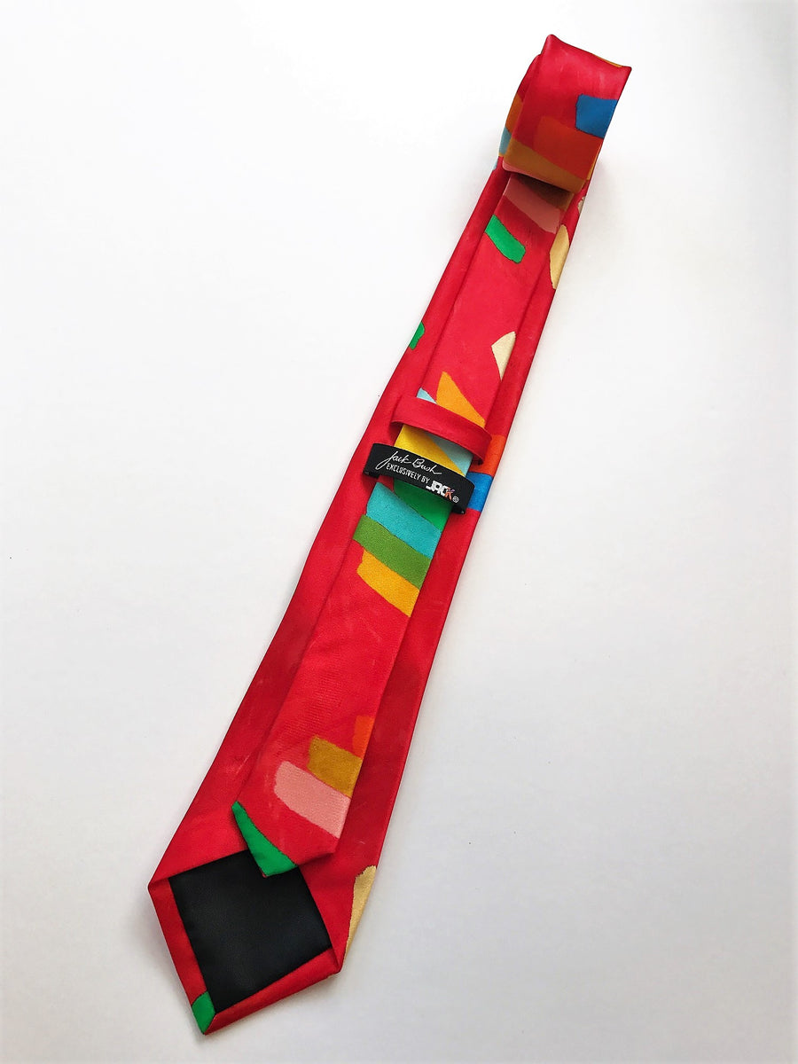 'HARMONIC INTERVAL' SILK TIE