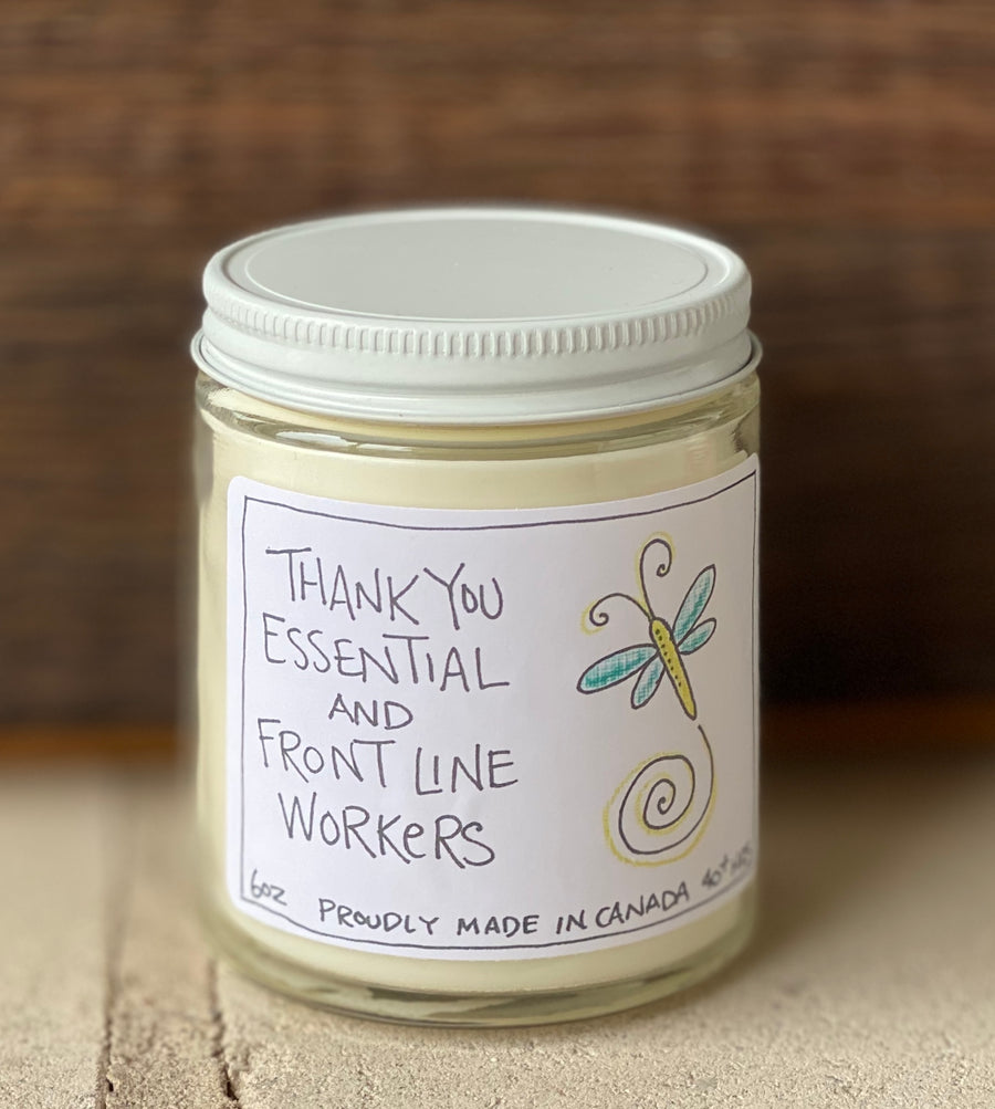 Thank you essential & frontline workers   Sandalwood & Citrus