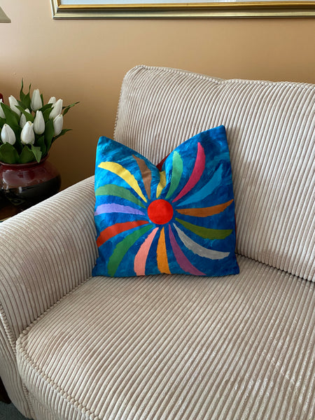 Pillow design Night Spin
