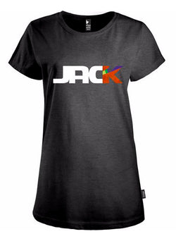 """CROSS UNDER"" JACK LOGO HEATHER BLACK"