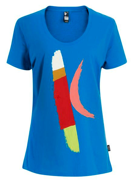Women's Organic Cotton T-Shirts   Design: Pink Moon