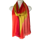 Women's Scarves   Design: Rose Red + Red