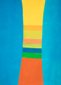 'STRIPED COLUMN' by Canadian Artist, Jack Bush