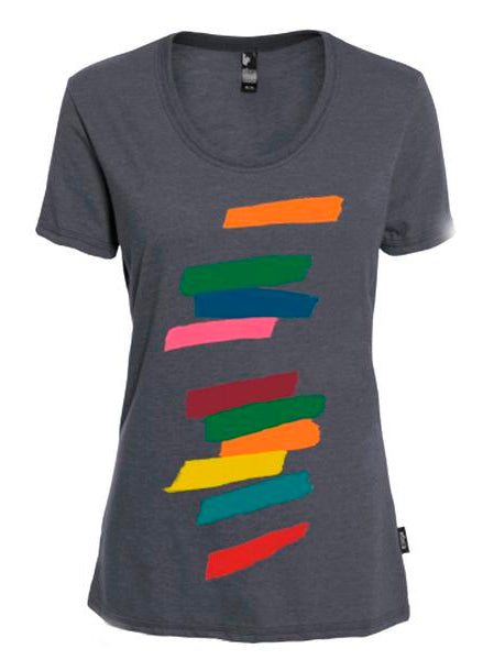 Women's Organic Cotton T-Shirts  Design: Tempo Giusto