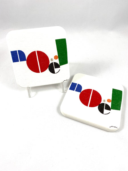 NOEL Coasters Set of 2